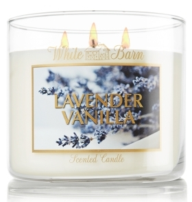 White Barn Candles Lavender Vanilla Scented Candle