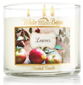 Leaves from White Barn Candle