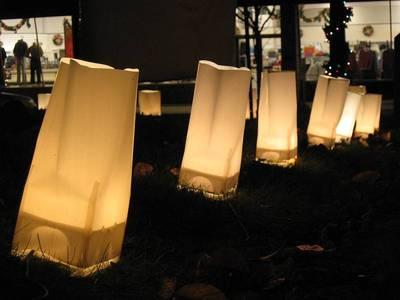Luminary candles